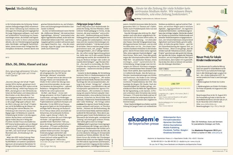 Special Medienbildung medium magazin #06_2013 (2)