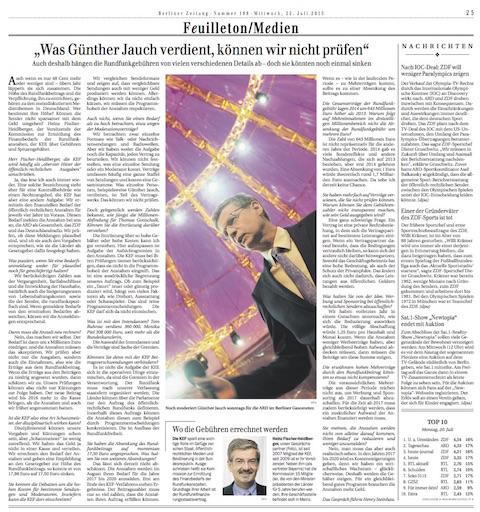 Berliner Zeitung - Fischer-Heidlberger
