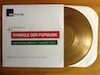 Goldenes Vinyl für PopSymbole-Vortrag 100