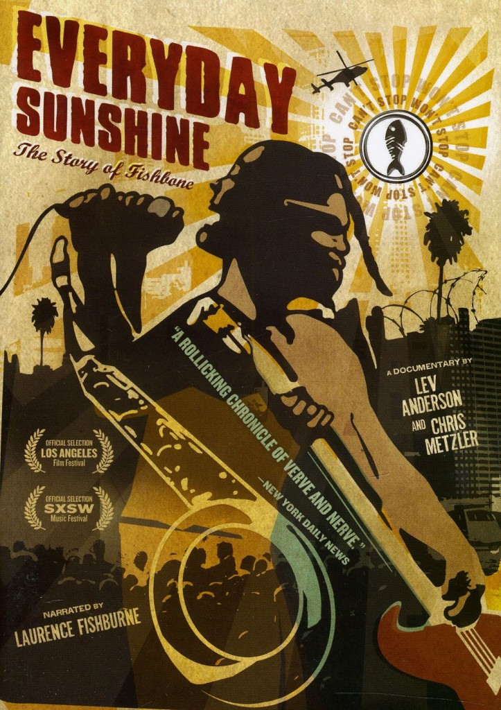 Cover DVD Everyday Sunshine Fishbone Doc