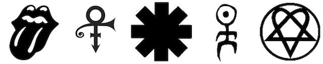 Symbole der Popmusik