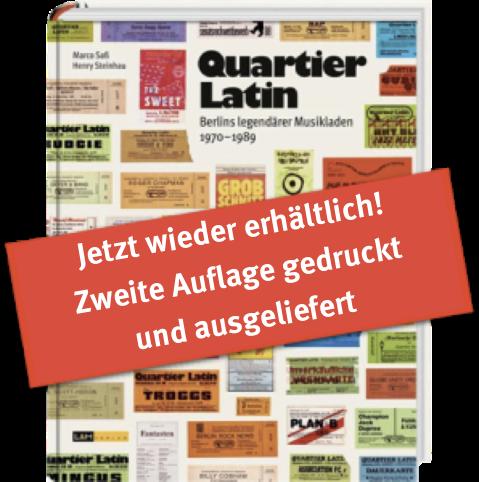 Cover Quartier Latin-Buch mit zweite-Auflage-erhaeltlich-Balken