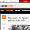 Screenshot RadioEIns Ticketpreise (Ausschnitt)